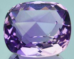 ~CUSTOM CUT~ 7.70 Cts Natural Purple Amethyst Fancy Cushion Bolivia