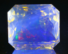 15.81Ct ContraLuz Precision Cut Ethiopian Very Rare Species Opal B0311