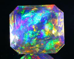 5.01Ct ContraLuz Precision Cut Ethiopian Very Rare Species Opal B0312