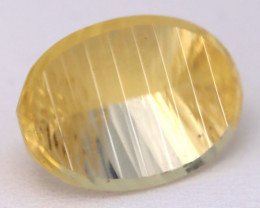 Heliodor 11.85Ct VVS Laser Cut Natural Mexican Yellow Beryl Heliodor B0315