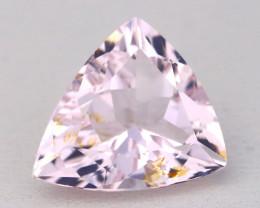 4.00Ct Natural Morganite Trillion Cut Sweet Pink Beryl Madagascar B0324