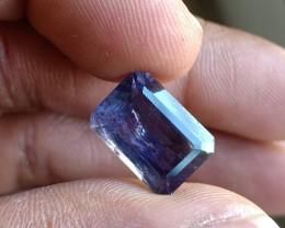 Natural iolite Gemstone Faceted Genuine Gem VA5423