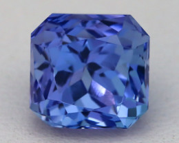 4.50Ct Natural Violet Blue Tanzanite IF Flawless Octagon Master Cut B0332