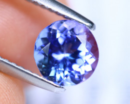 1.37cts Natural D Block TOP Violet Blue Tanzanite / KL1091