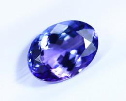 1.97cts Natural D Block TOP Violet Blue Tanzanite / KL1092