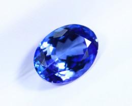 1.35cts Natural D Block TOP Violet Blue Tanzanite / KL1097