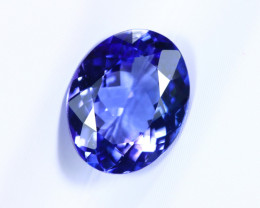 2.30cts Natural D Block TOP Violet Blue Tanzanite / KL1102