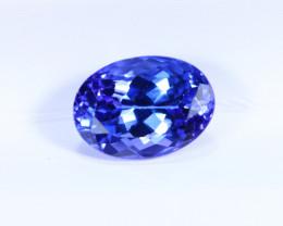 1.34cts Natural D Block TOP Violet Blue Tanzanite / KL1103