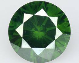 0.45 Ct Green Diamond Top Class Vivid Color GD22