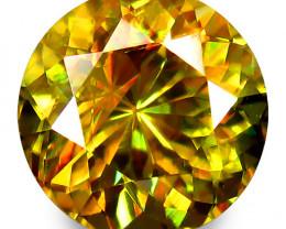 0.85Cts Hi Sparkling Natural Sphene Titanite Round Shape Lovely Collection