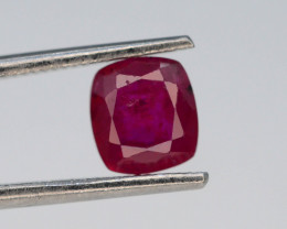 0.99 cts Natural Red Color Ruby - Mozambique