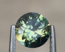 1.3ct Unheated teal-yellow partisapphire
