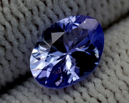 0.95CT TANZANITE BEST QUALITY GEMSTONE IIGC19
