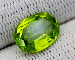 3.11CT PAKISTAN PERIDOT BEST QUALITY GEMSTONE IIGC19
