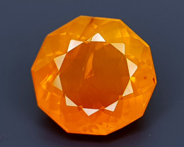 2.55CT FACETED FIRE OPAL BEST QUALITY GEMSTONE IIGC19