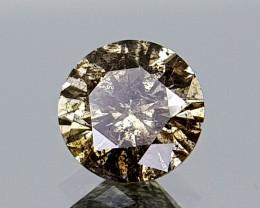 0.52CT NATURAL DIAMOND  BEST QUALITY GEMSTONE IIGC19