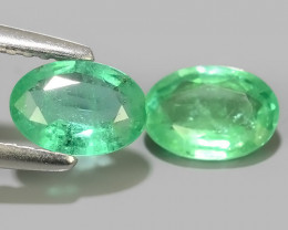 1.25 CTS BEST COLLECTION OF NATURAL ZAMBIAN EMERALD
