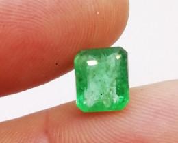 2.59cts Vivid Zambian   Emerald , 100% Natural Gemstone