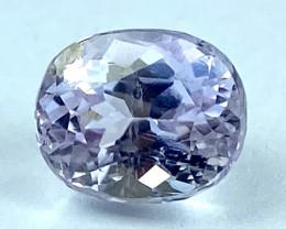 4.86Ct Kunzite Top Cut Top Luster Quality Gemstone.From Pakistan.KZ 50
