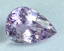 5.80Ct Kunzite Top Cut Top Luster Quality Gemstone.From Pakistan.KZ 65