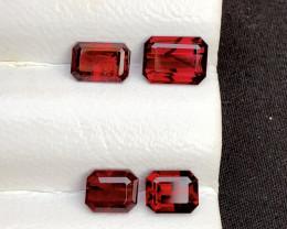 Natural 6.25 Carat Garnet Rhodolite Red Garnet ~ LOT
