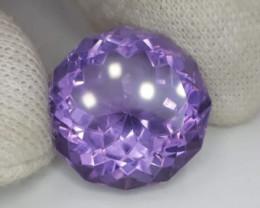 Amethyst, 29.65ct, perfect cut, eyeclean stone !