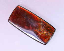23x11mm,  11.85cts Natural Canadian Ammolite Stone / MA1505