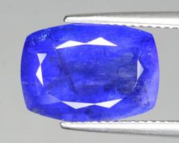 Tanzanite 7.50 Cts Rare Violet Blue Color Natural Gemstone