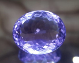 Amethyst, 19.65ct, awesome cut, excellent colour !