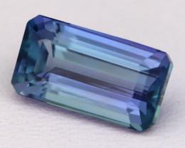 4.79Ct Natural Vivid Blue Tanzanite IF Flawless Octagon Master Cut C0434