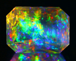 7.27Ct ContraLuz Mexican Precision Cut Very Rare Species Opal C0437