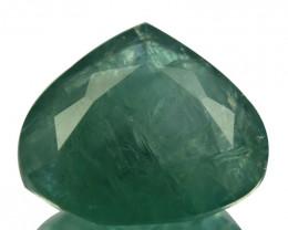 ~RARE~ 5.28Cts Natural Bluish Green Grandidierite Heart mix Drop Madagasc