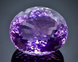 56.83 Crt Natural Amethyst  Faceted Gemstone.( AB 10)