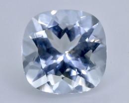 1.98 Crt Natural Aquamarine  Faceted Gemstone.( AB 10)