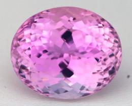 Kunzite 27.14Ct VVS Natural Afghanistan Vivid Pink Precision Oval Cut C0406