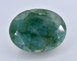 8.03 Crt Natural Emerald  Faceted Gemstone.( AB 10)