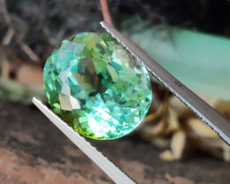 8.40 Cts Attractive Natural mint green Tourmaline Gemstone Dazzling!!