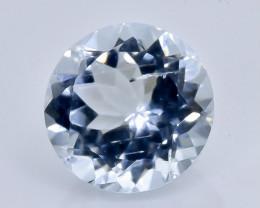 1.80 Crt Natural  Aquamarine Faceted Gemstone.( AB 10)