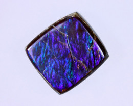 11x10mm,  4.82cts Natural Canadian Ammolite Stone / MA1574