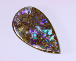 21x12mm,  13.96cts Natural Canadian Ammolite Stone / MA1578