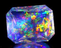 ContraLuz 3.62Ct Precision Master Cut Very Rare Species Mexican Opal A0530