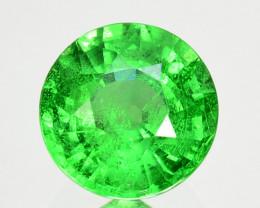 1.27Ct Natural Tsavorite Green Round 6mm Kenya
