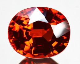 2.18 Cts Natural Mandarin Orange Spessartite Garnet Oval Cut Namibia Gem