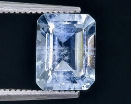 2.27 Crt Aquamarine  Faceted Gemstone (Rk-85)