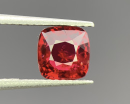 1.34 Cts Natural Red Spinel