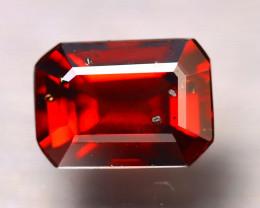 Almandine 1.60Ct Natural Vivid Blood Red Almandine Garnet D0803/B3