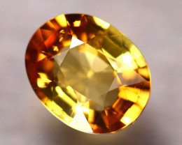 Tourmaline 1.93Ct Natural Golden Yellow Tourmaline D0818/B48