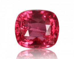 Intense Color Natural Red Spinel  3.05 ct from Tanzania