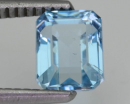 Brazil Aquamarine 1.64 ct Untreated Lovely Soft Blue SKU-8