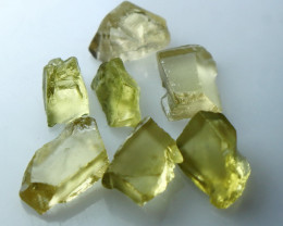 NR!!! 11.60 CTs Natural & Unheated~ Yellow Heliodor Rough Lot